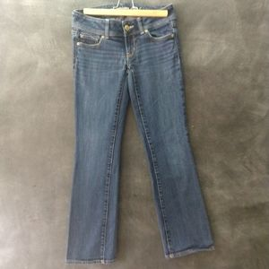 American Eagle Low Rise Short Slim Bootcut Jeans